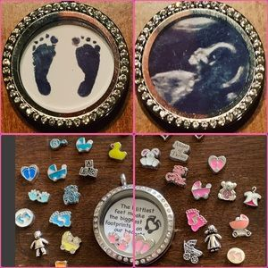 Jewelry - Perfect locket for new or expectant moms!